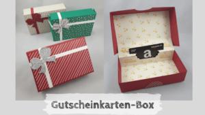 Gutscheinkarten-Box