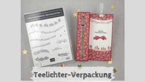 Teelicht-Verpackung